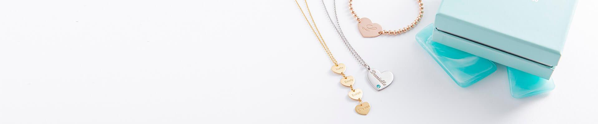 heart jewellery web banner