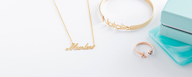 name jewellery mobile banner