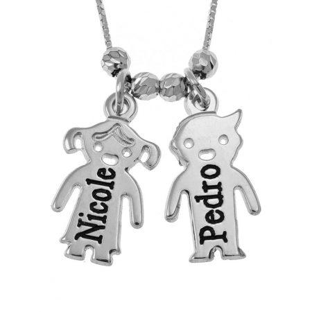 Engraved Children's Necklace