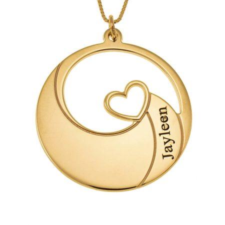 Spiral Name Necklace