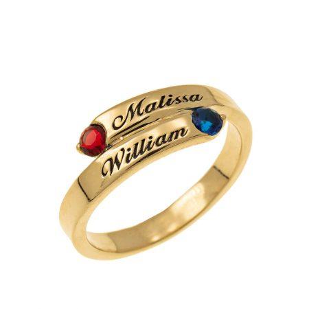 Custom Wrap Promise Ring