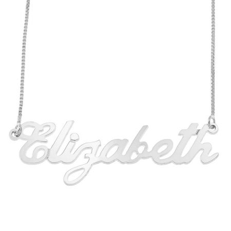 Carrie Style Box Name Necklace