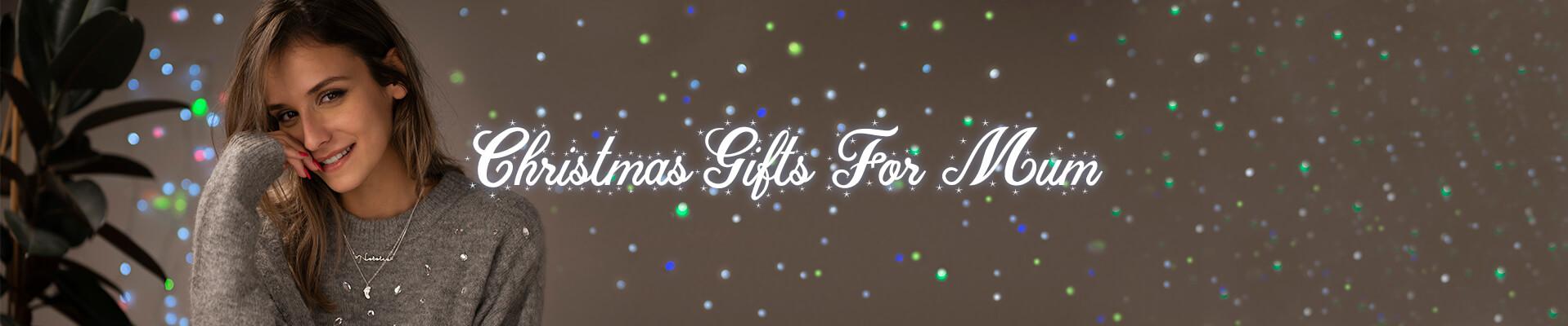 Christmas gifts for mum desktop banner