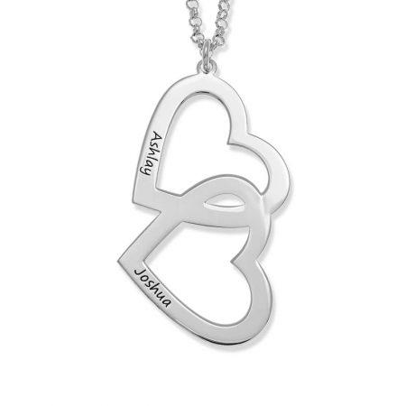 Heart in Heart Necklace