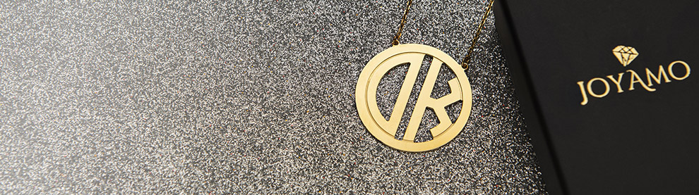 Monogram Necklaces mobile baner